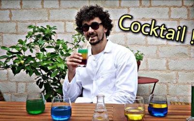 Cocktail multicolore
